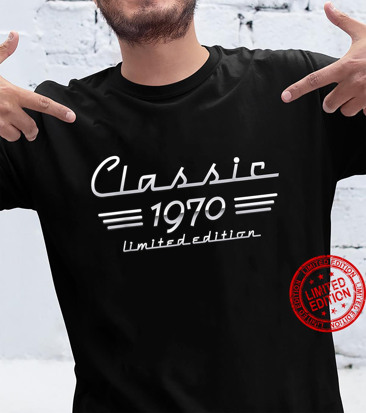 51 Year Old Classic 1970 Limited Edition 51st Birthday Shirt