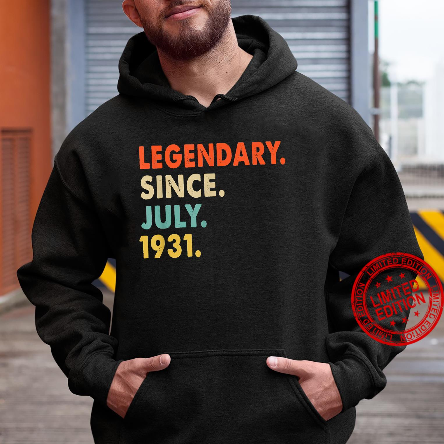 Legendary Since July 1931 90th Birthday For 90 Years Old Shirt hoodie