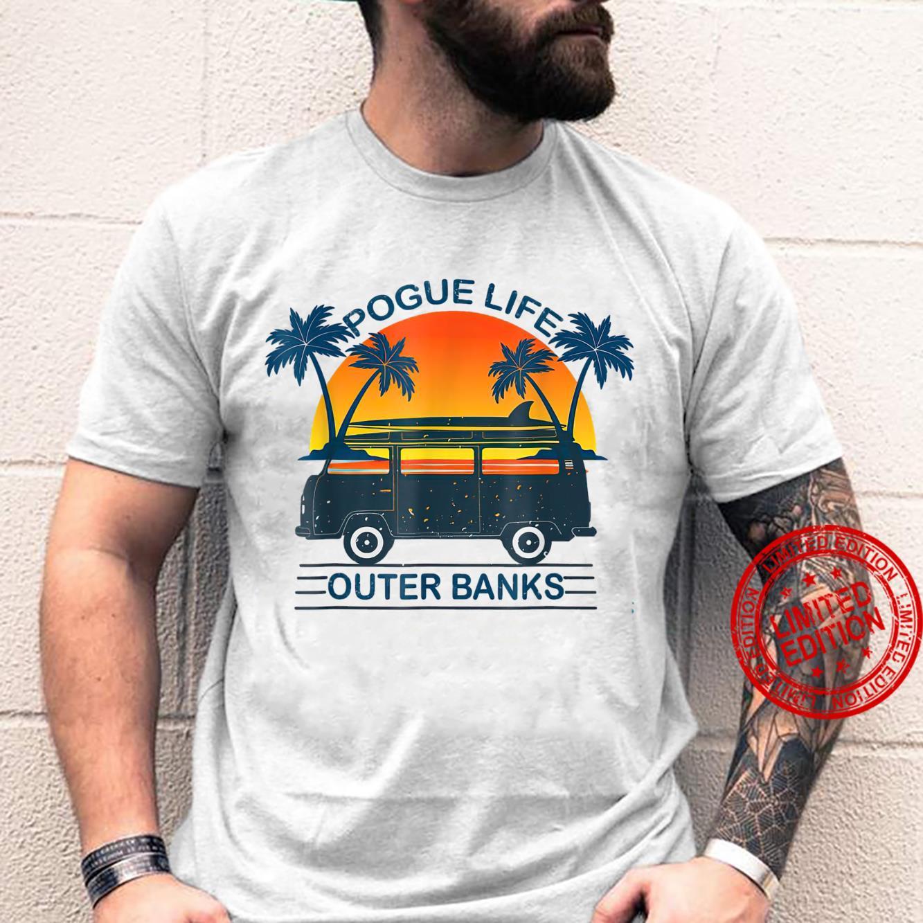 Po.gue Life Outer B.anks Retro Vintage Sunny Shirt