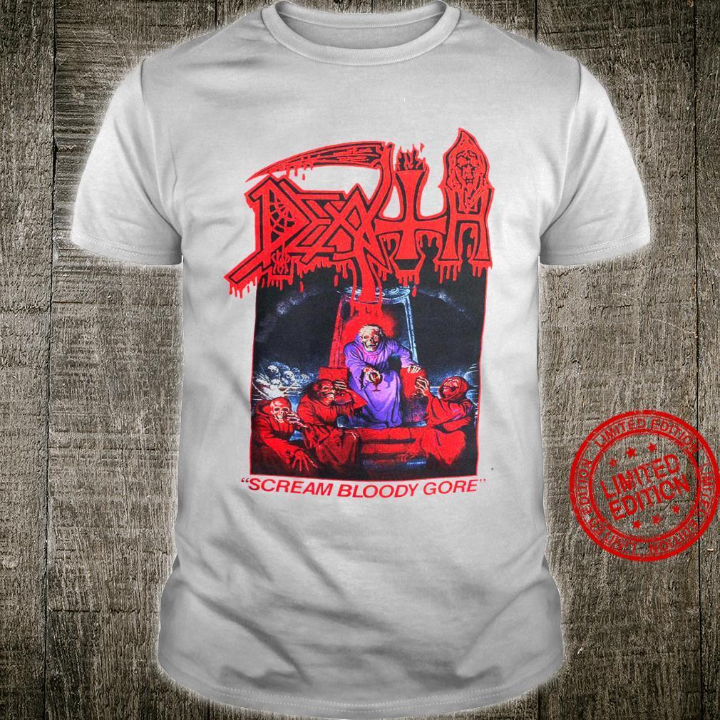 Scream Bloody Gore Shirt