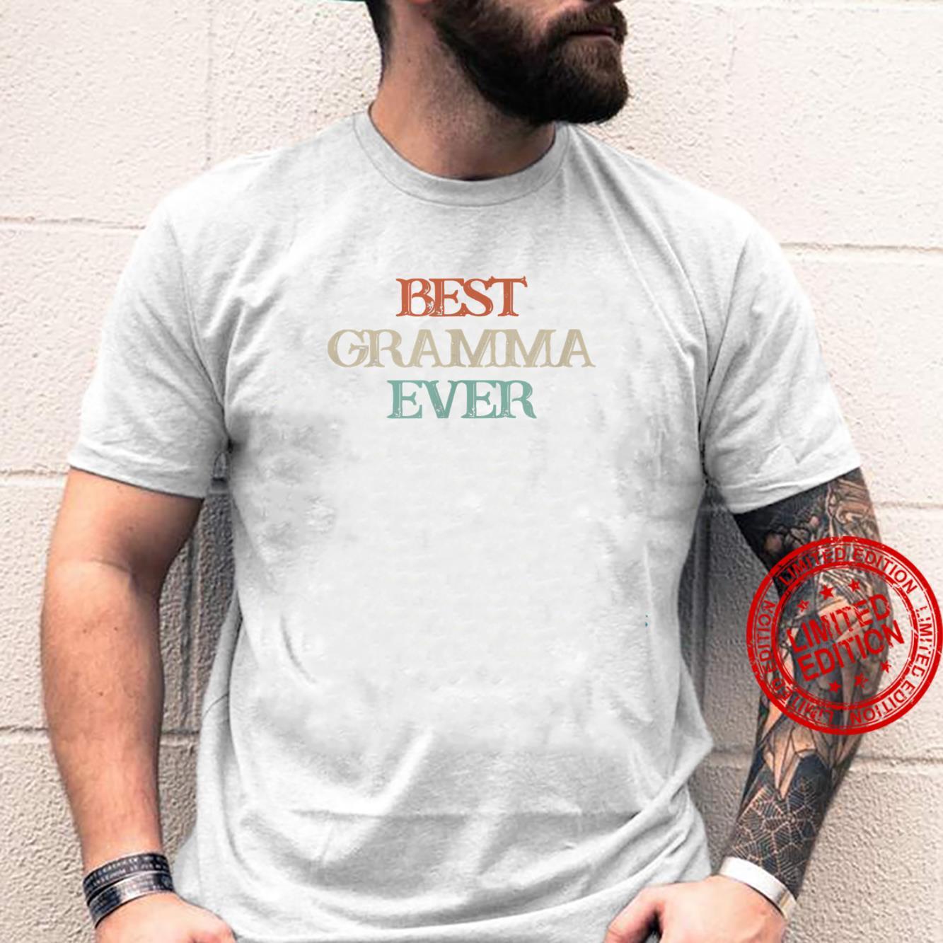 Vintage Best Gramma Ever Shirt