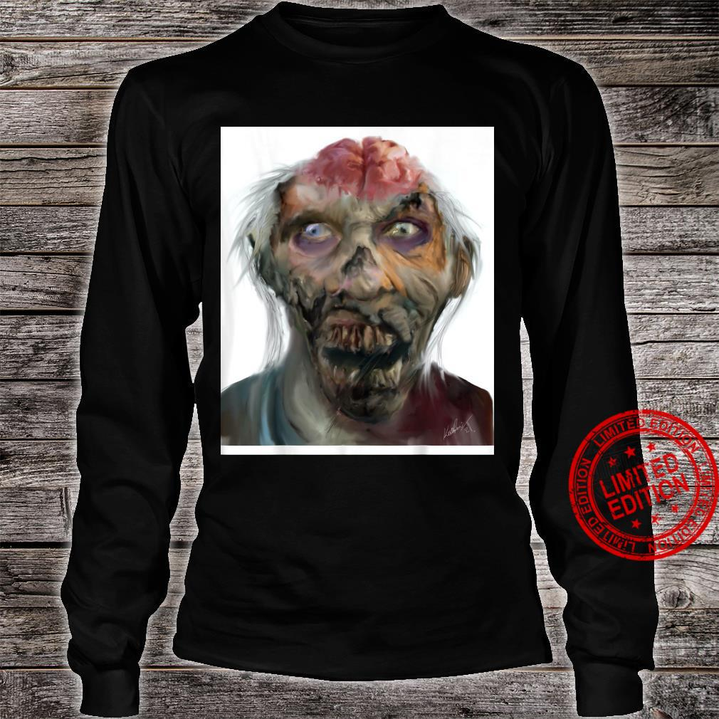 Zombie Shirt long sleeved