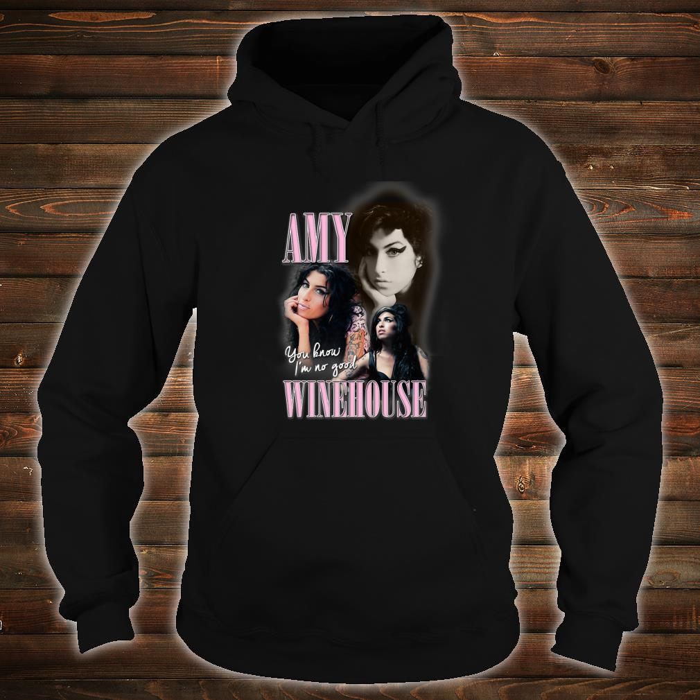 Amy Winehouse Official Retro 90's No Good Homage Shirt hoodie