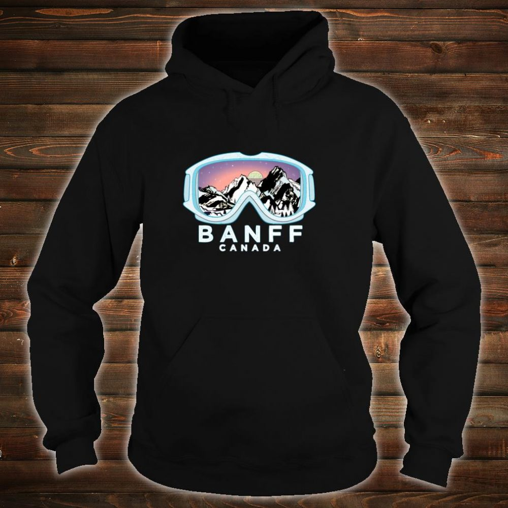 Banff Ski Design Banff, CAN Skiing Snow Shirt hoodie