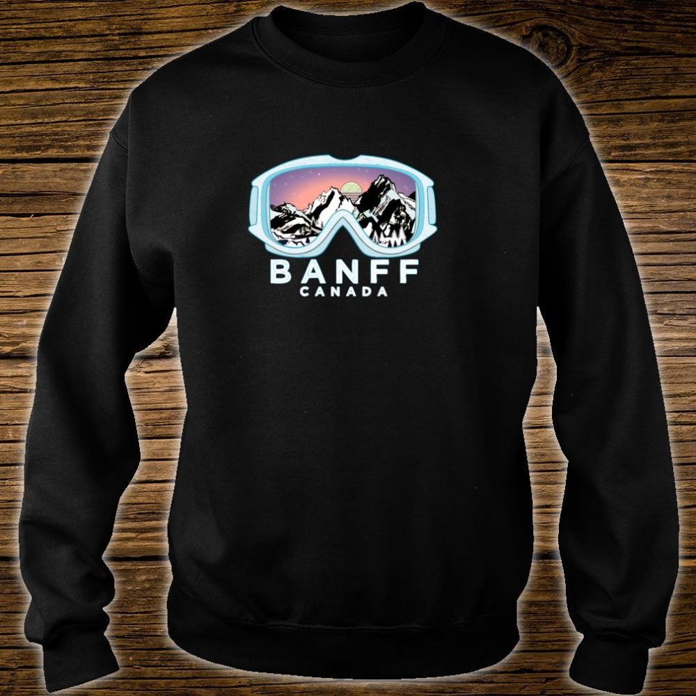 Banff Ski Design Banff, CAN Skiing Snow Shirt sweater