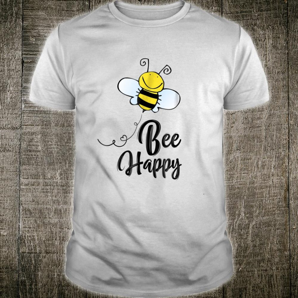 Bee Happy halloween Shirt