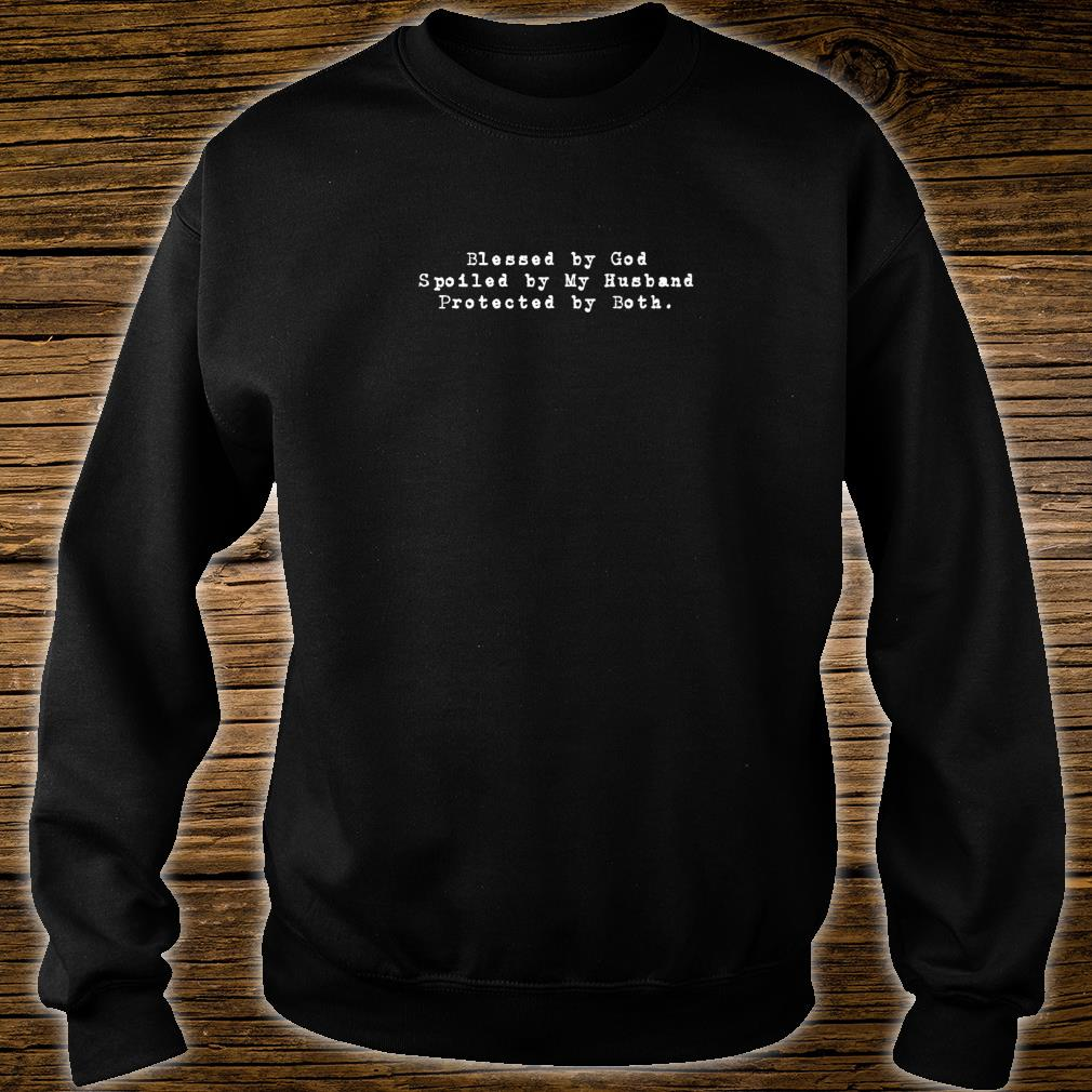 Blessed By God Christian Christmas Ideas Shirt sweater