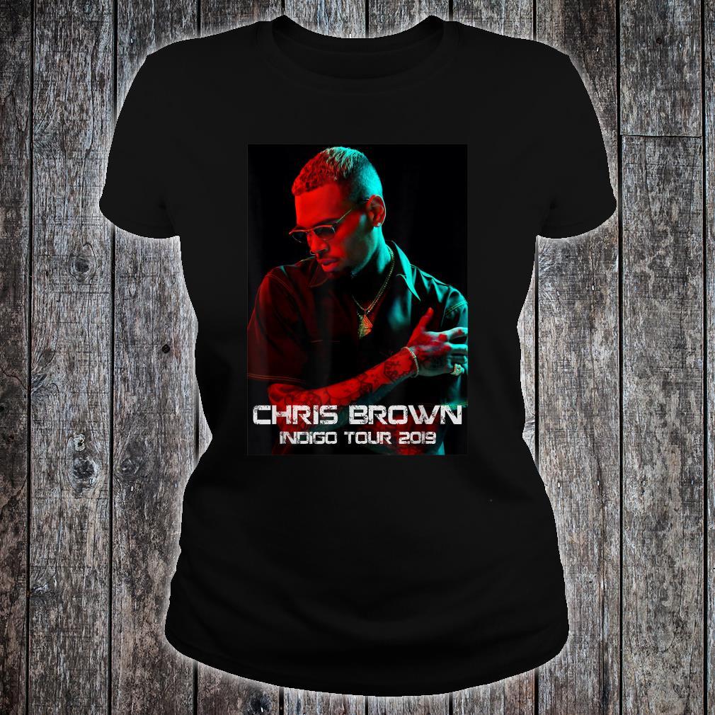 Chris Brown indigo tour 2019 Shirt ladies tee