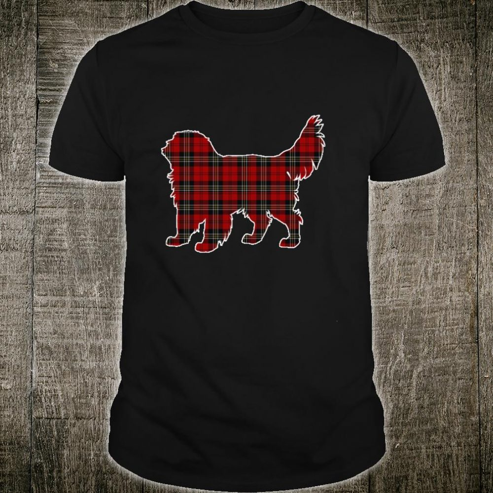 Clumber Spaniel Christmas Shirt Dog Buffalo Plaid Shirt