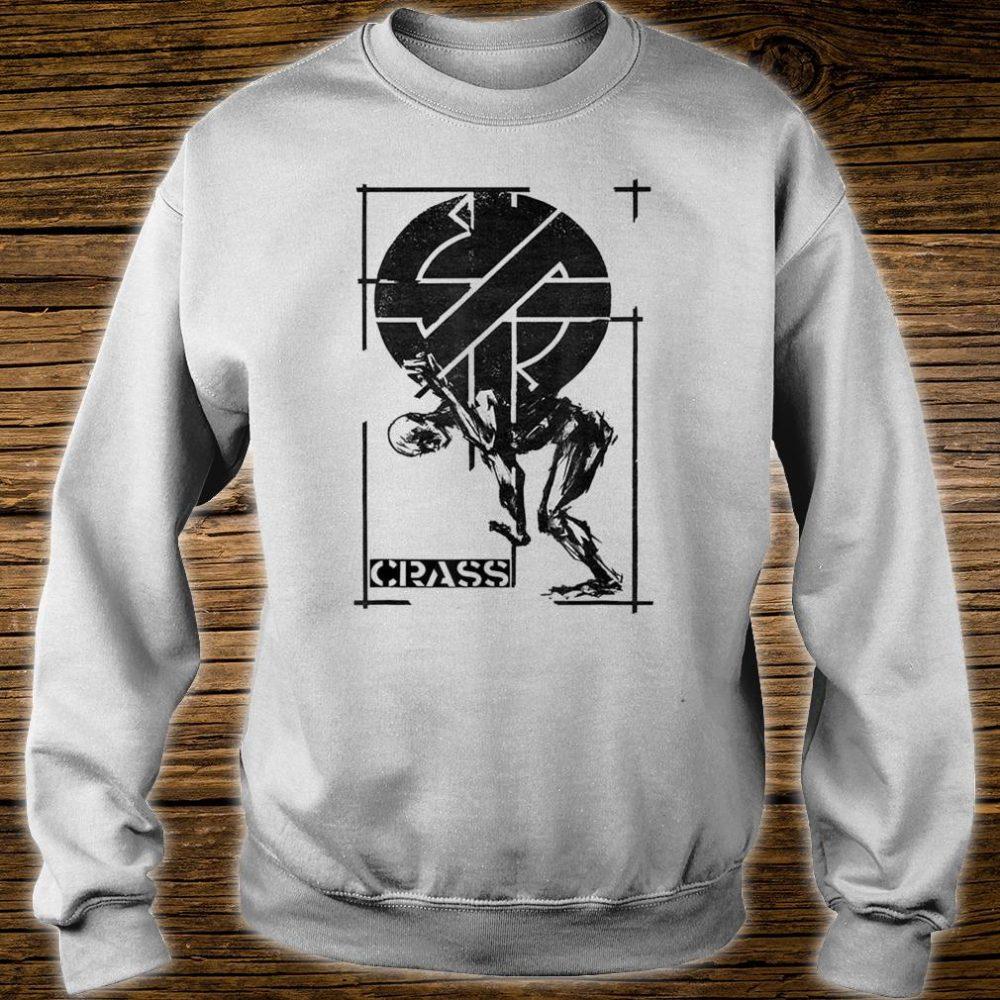 Crass Punk Anarchy British Street Punk Graffiti Shirt sweater