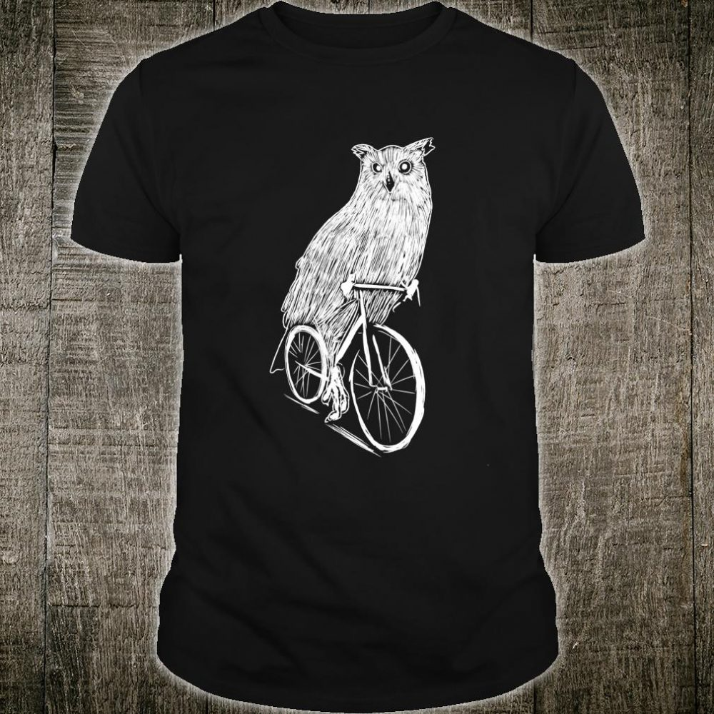 Cycling Owl Clothing Bicycle Biking Outfit Cyclist Owl Shirt