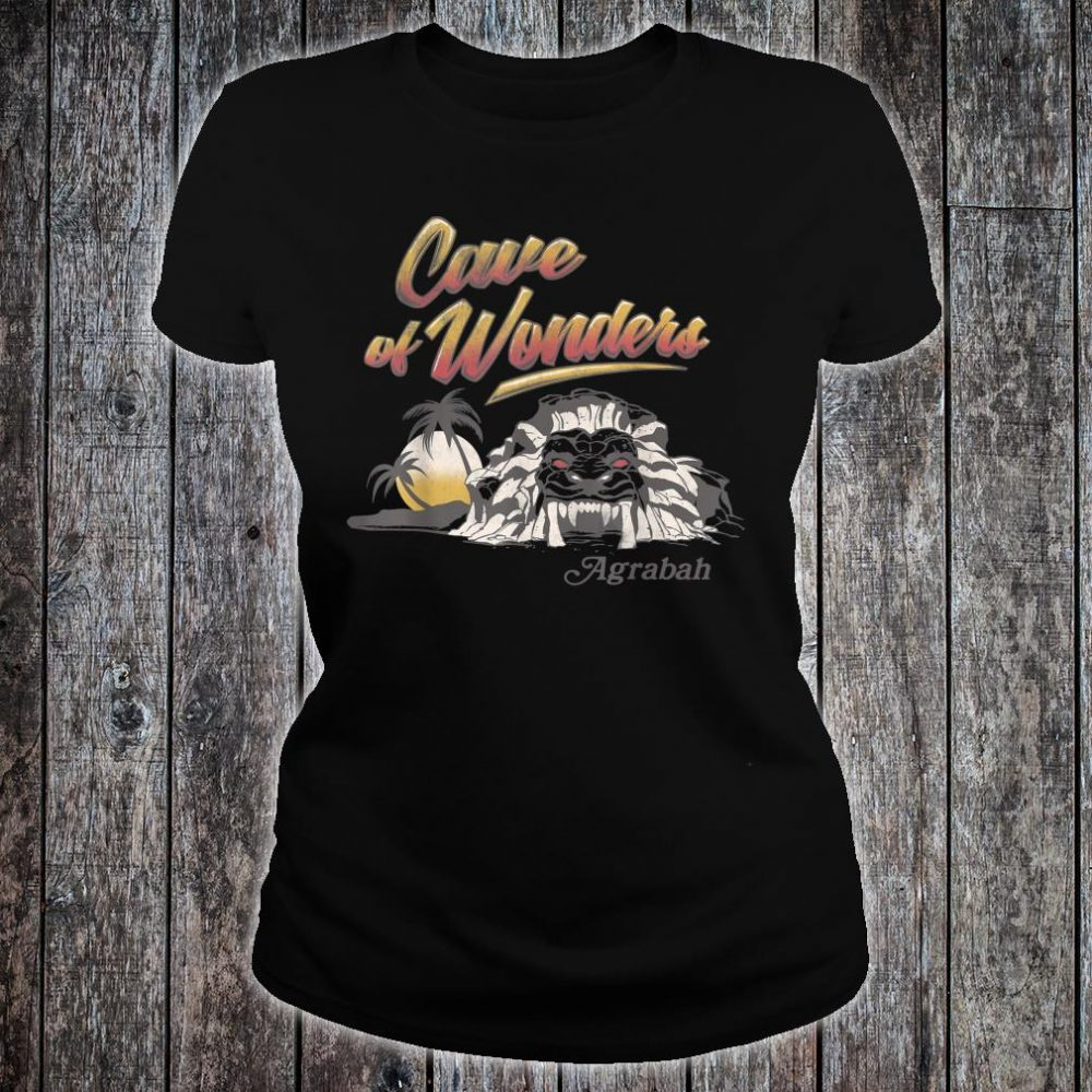 Disney Aladdin Live Action Cave Of Wonders Landscape Shirt ladies tee