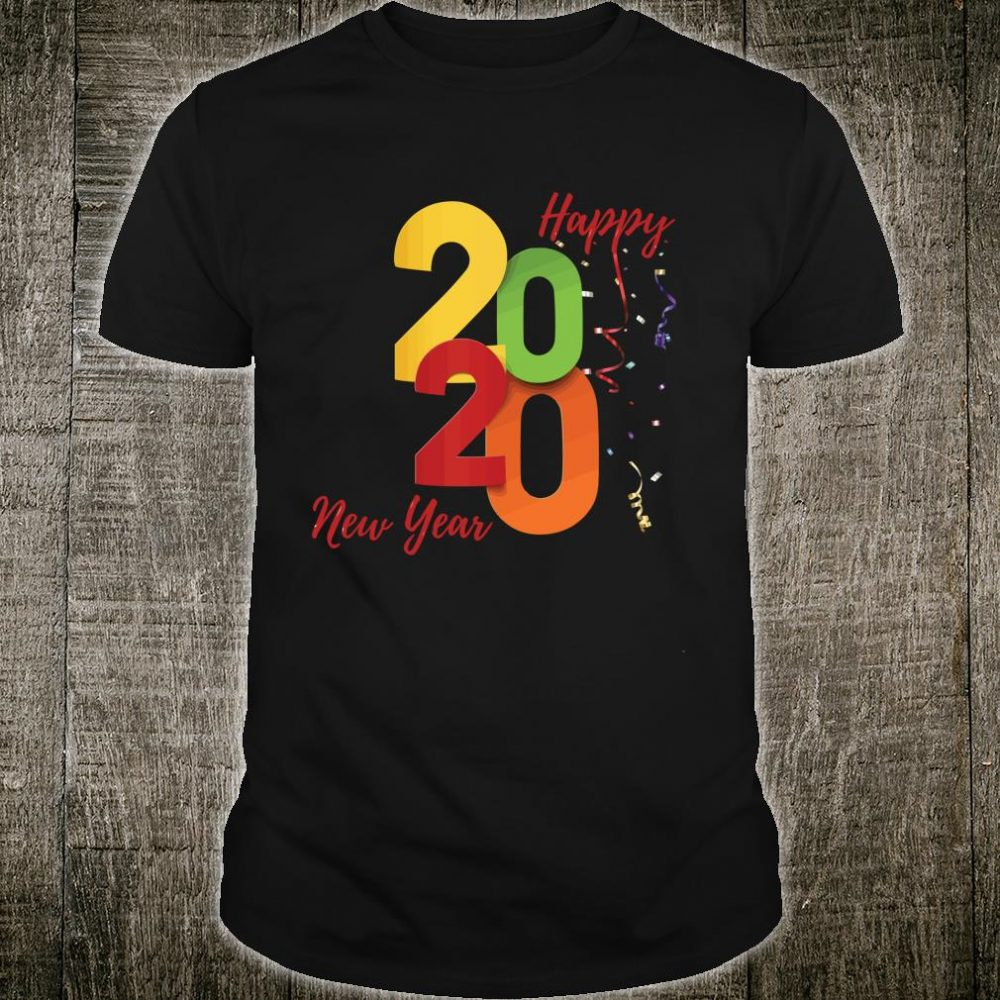 Happy New Year 2020 Shirt New Years Eve matching family Shirt
