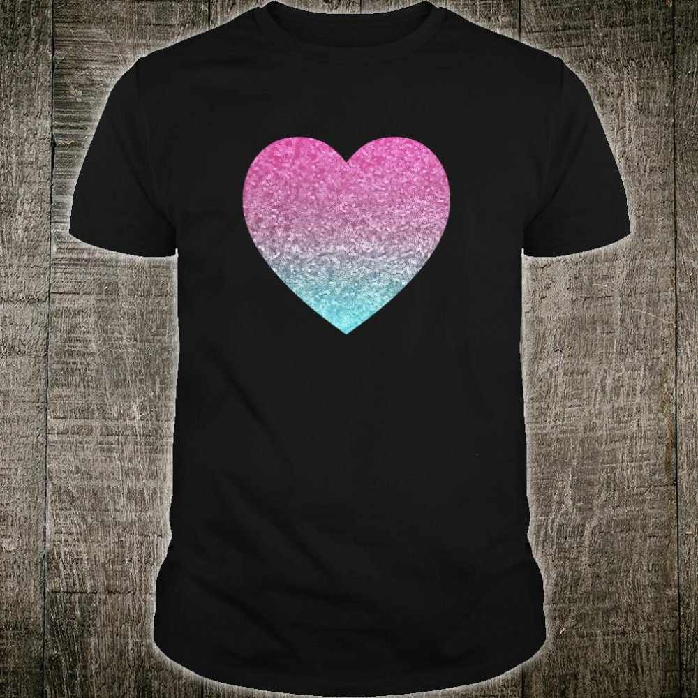 Heart Love Cool Valentines Day Shirt