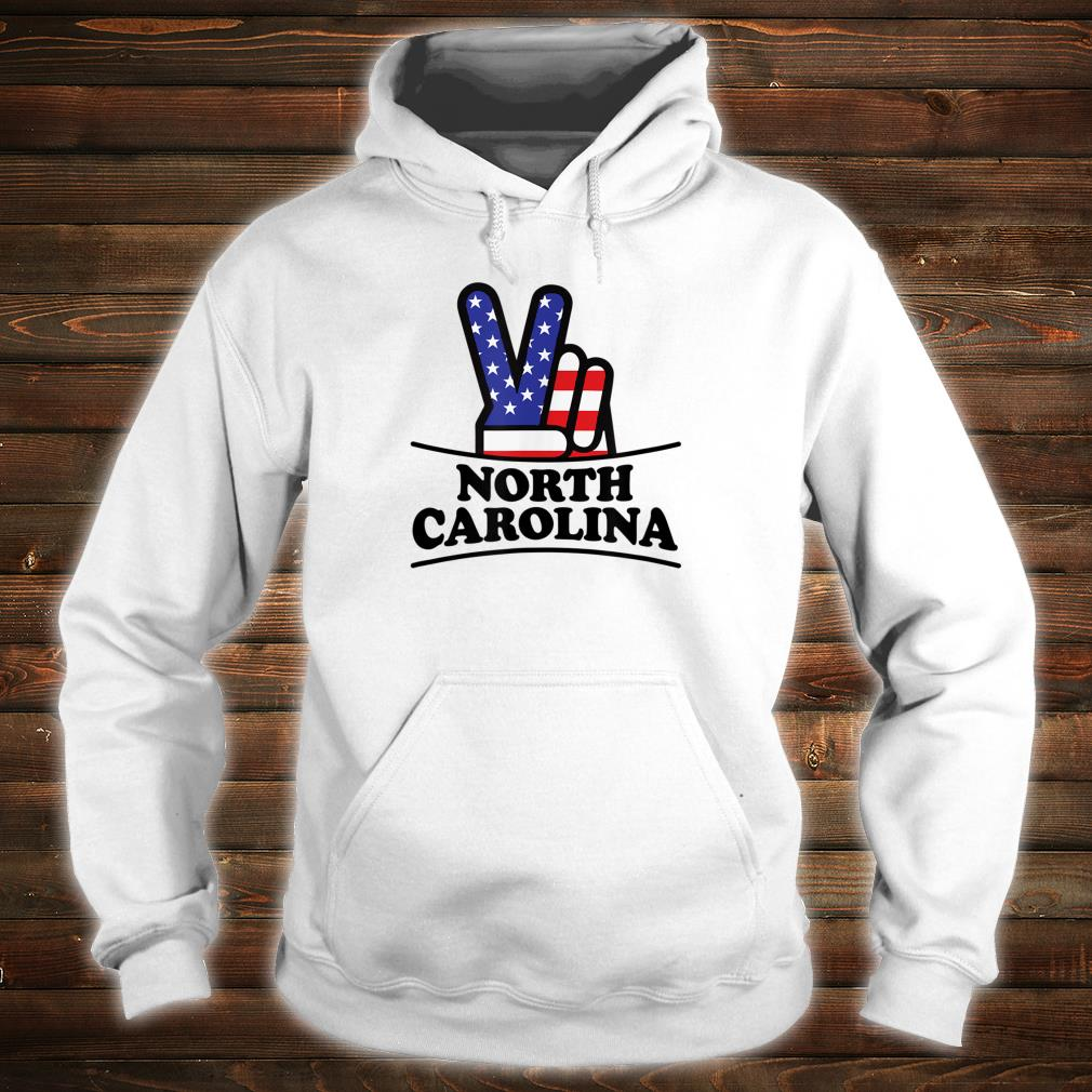 North Carolina Home State Retro Vintage 70s 80s Style Shirt hoodie