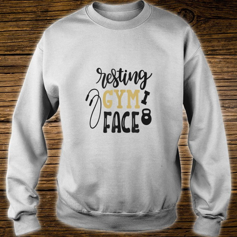 Resting Gym Face Shirt sweater