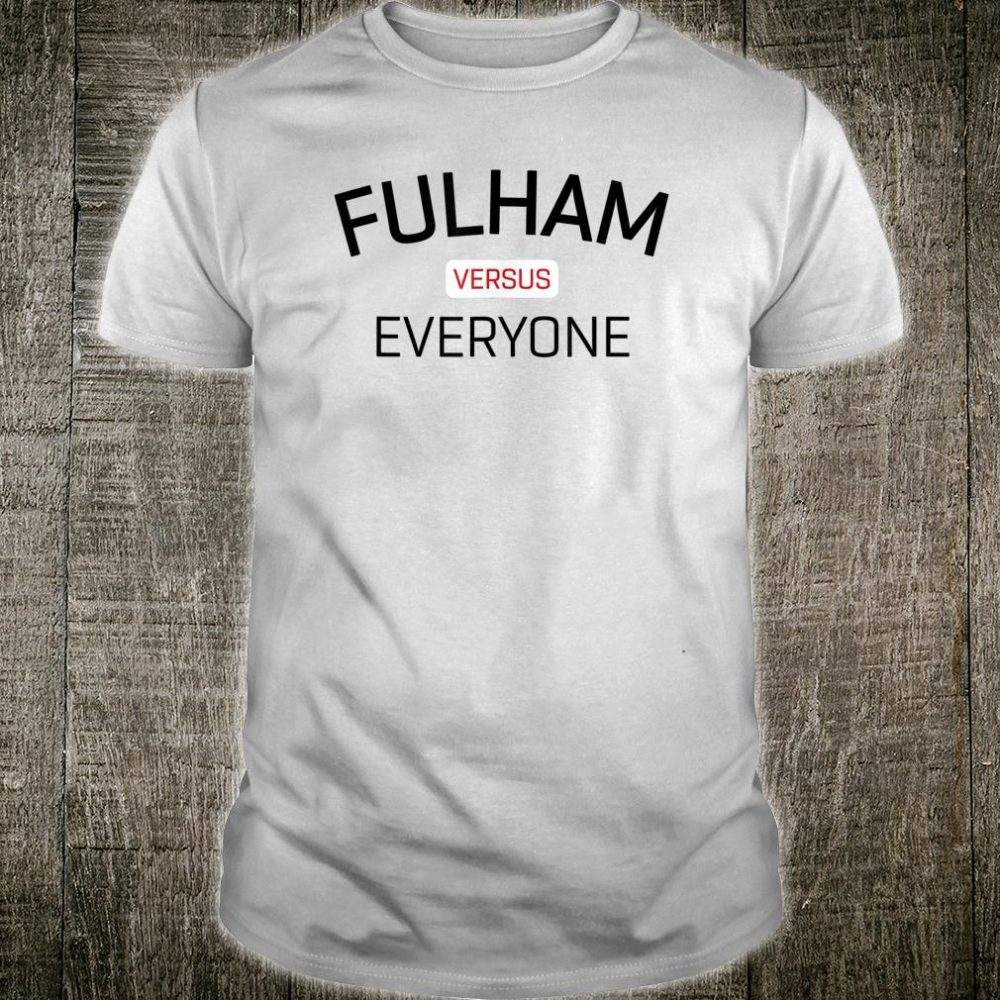 Retro Fulham Soccer Jersey Cottagers Fan Top Shirt