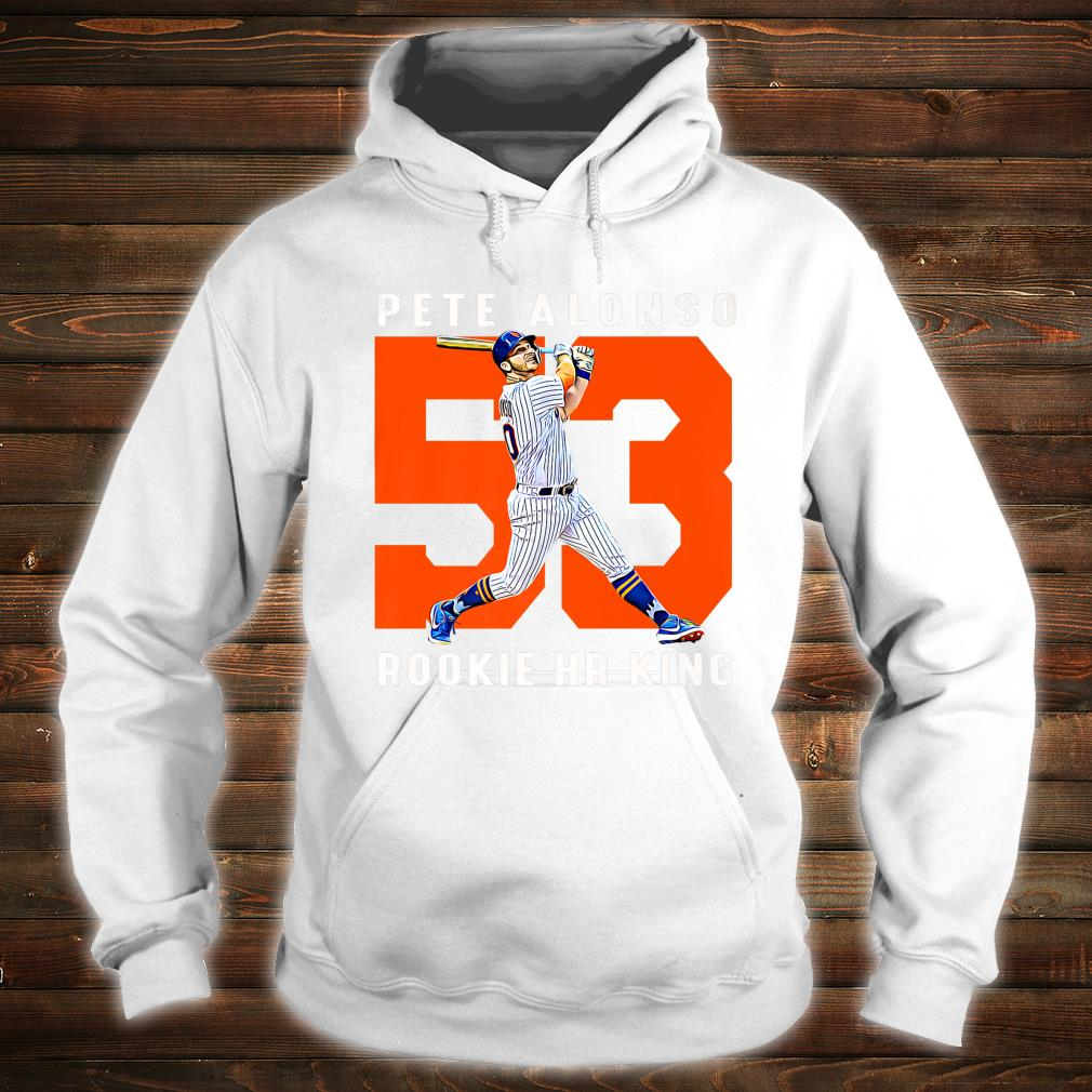 Retro Pete Alonso Baseball Apparel Shirt hoodie