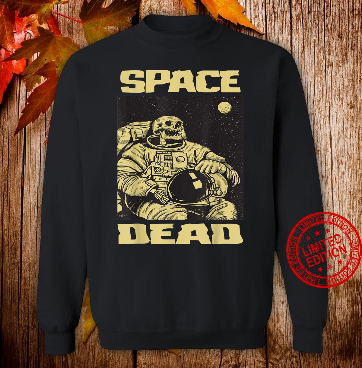 Space Dead Skeleton Spaceman Shirt sweater