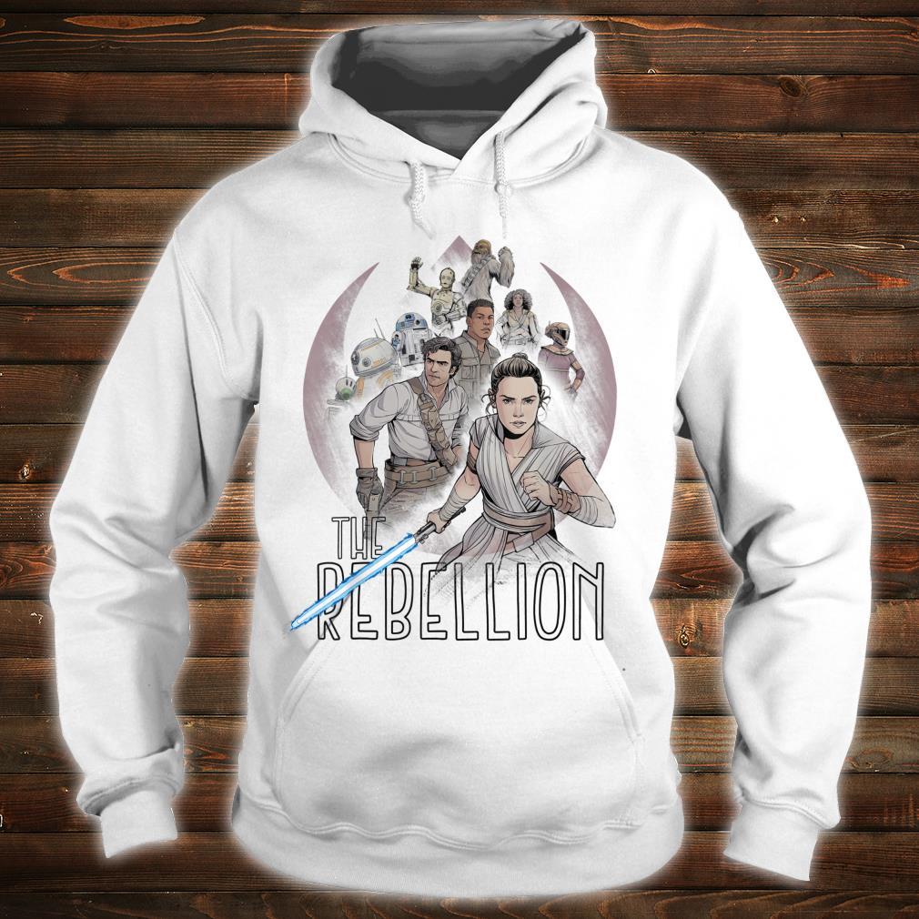 Star Wars The Rise of Skywalker The Rebellion Heroes Shirt hoodie