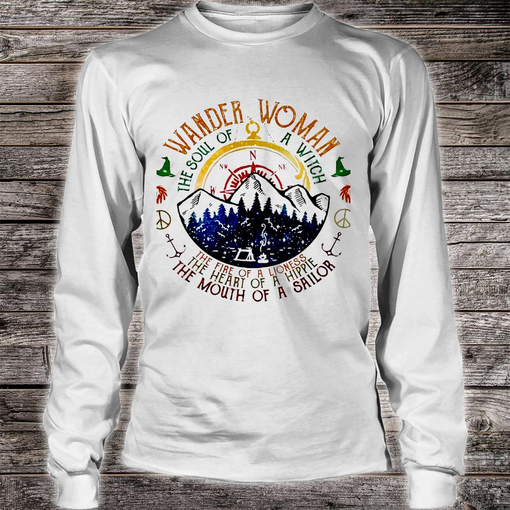 Wander woman the soul of a witch of a sailor shirt long sleeved