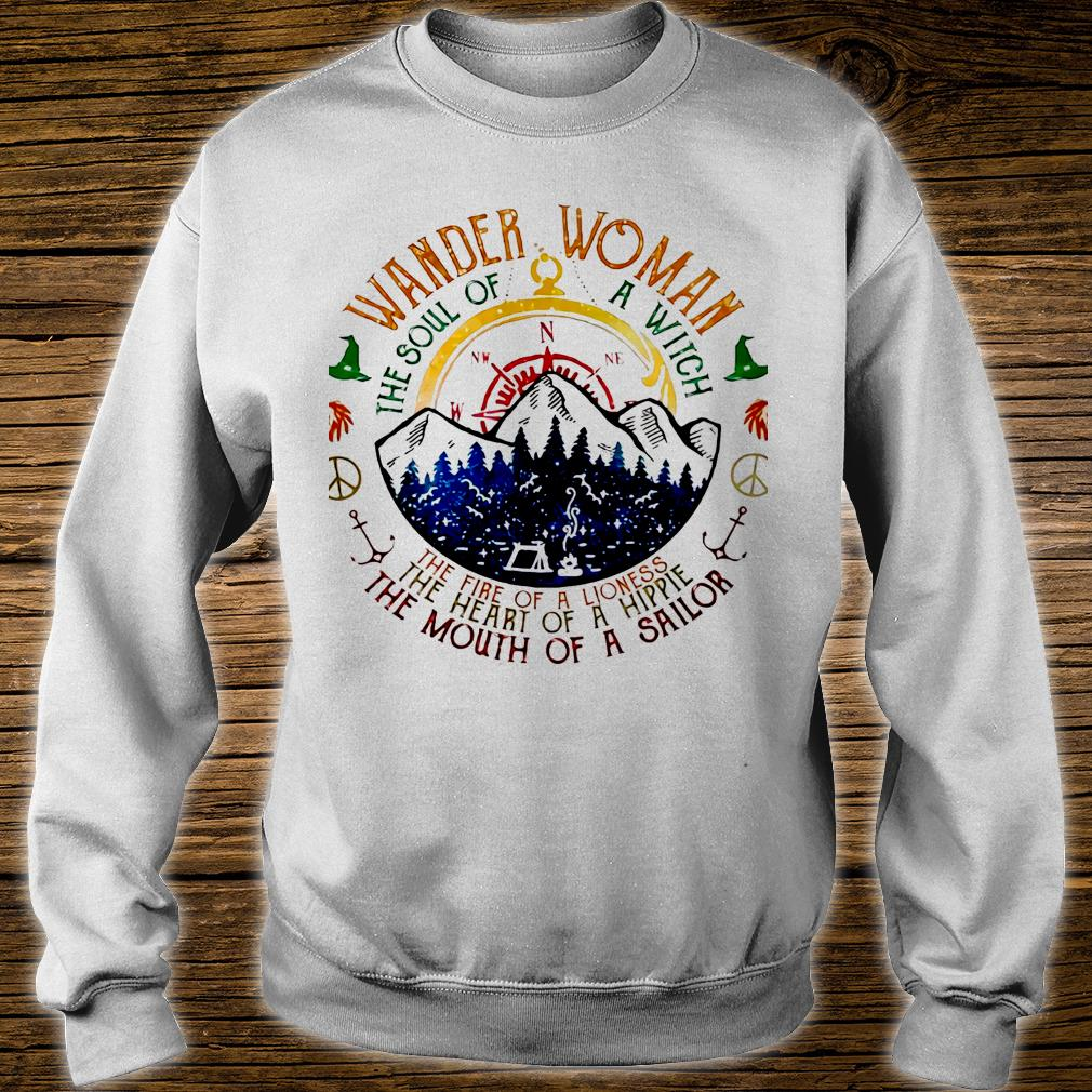 Wander woman the soul of a witch of a sailor shirt sweater