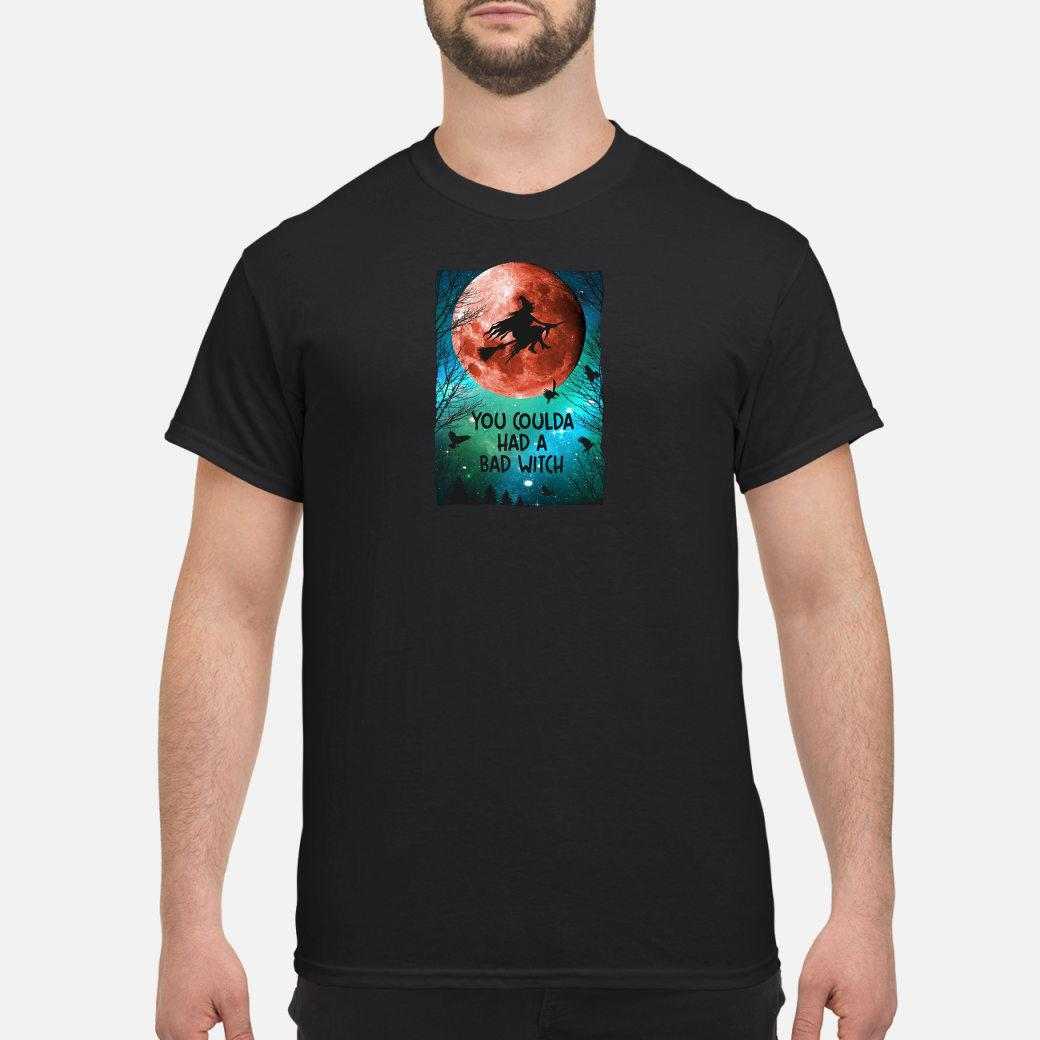 You coulda had a bad witch galaxy view shirt
